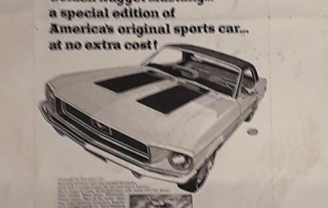 Ford Mustang 1968 Golden Nugget special edition images NZ (18).jpg