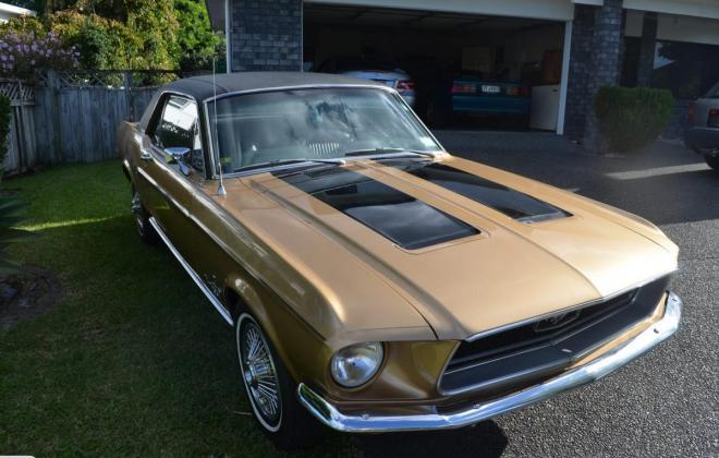 Ford Mustang 1968 Golden Nugget special edition images NZ (3).jpg