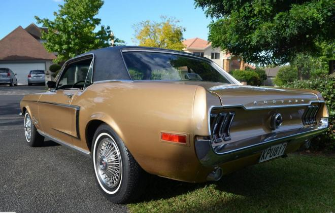 Ford Mustang 1968 Golden Nugget special edition images NZ (4).jpg