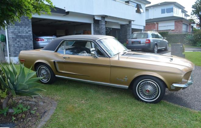 Ford Mustang 1968 Golden Nugget special edition images NZ (5).jpg