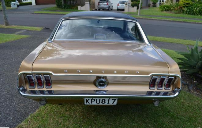 Ford Mustang 1968 Golden Nugget special edition images NZ (7).jpg