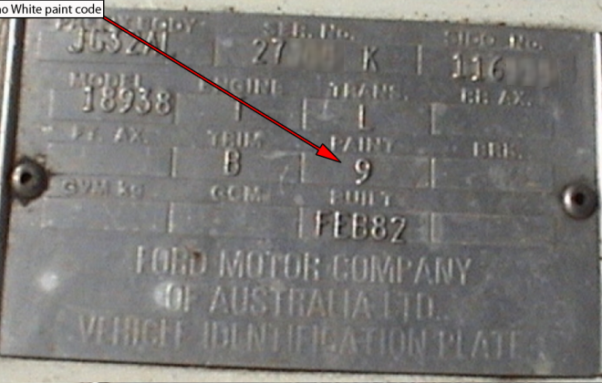 Ford XD ESP chassis plate paint code location (5).png