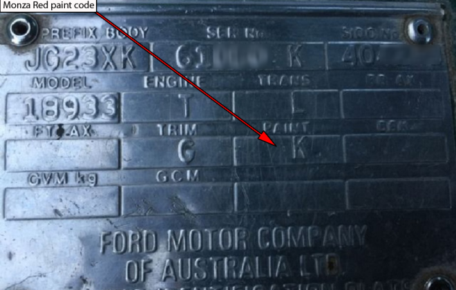 Ford XD ESP chassis plate paint code location (4).png