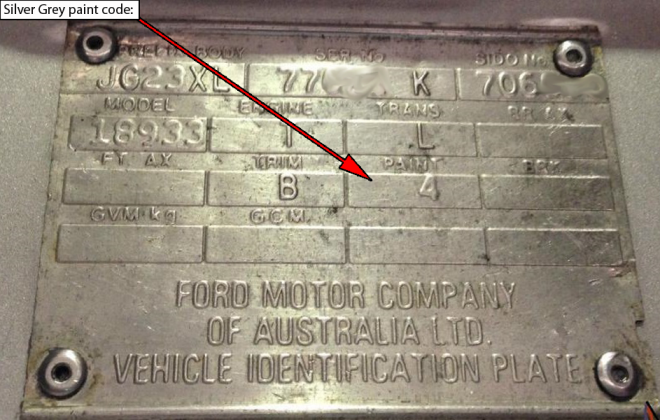 Ford XD ESP chassis plate paint code location (6).png