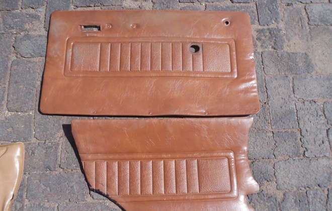 Front and rear door cards in tan Leyland GTS.png