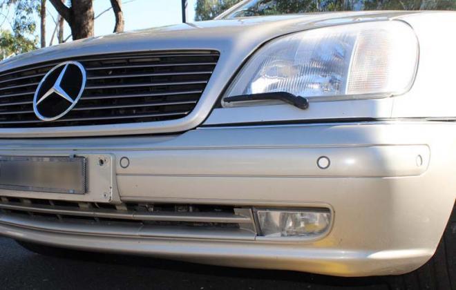 Front bumper sensors C140 Mercedes coupe CL500 S500.jpg