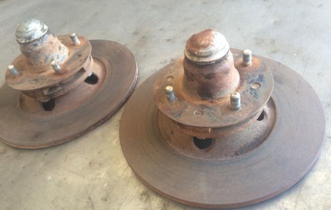 Front disc rotors.JPG