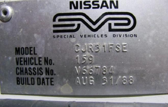 GTS1 R31 Skyline Sedan Silhouette Australia 1 of 200 (1).JPG