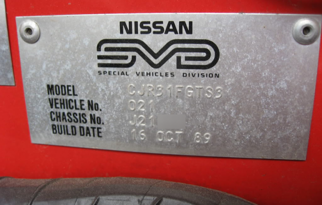 GTS2 Skyline R31 Australia Number 021 SVD build plate Silhouette.png