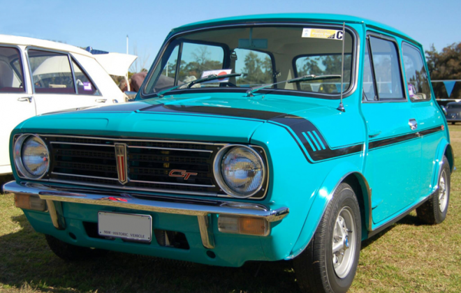 Gambier Turquoise 1972 Leyland Mini Clubman GT Australia.png