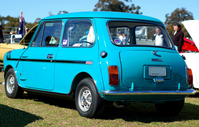 Gambier Turquoise Clubman GT Australia 1972 rear image.png