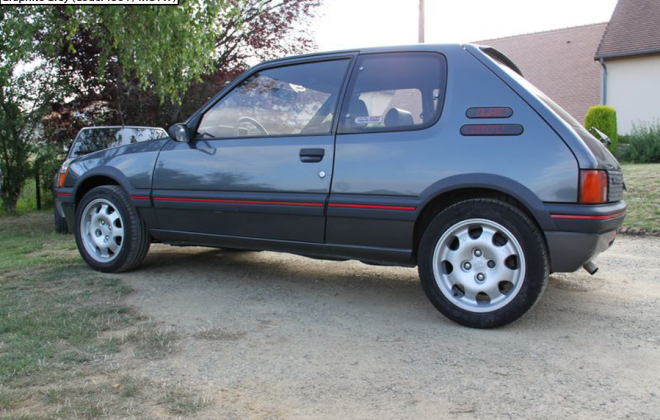 Graphite Grey 1990 Peugeot 205 GTI Phase 1.5.png