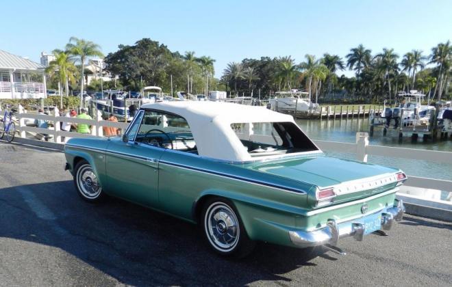 Green 1964 Sudebaker Daytoina Convertible V8 Florida (1).jpg