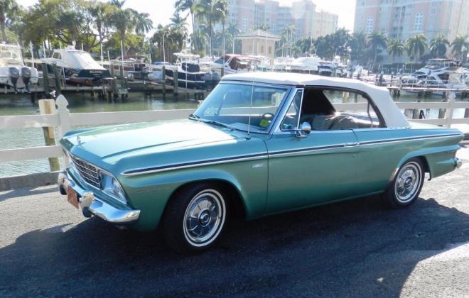 Green 1964 Sudebaker Daytoina Convertible V8 Florida (3).jpg
