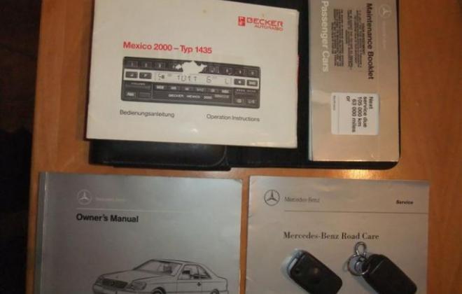 Grey silver C140 Mercedes S500 Coupe 1994 Australia classic (11).jpg