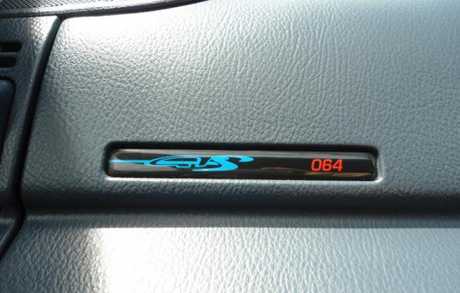 HSV GTS VP dashboard build number badge.jpg