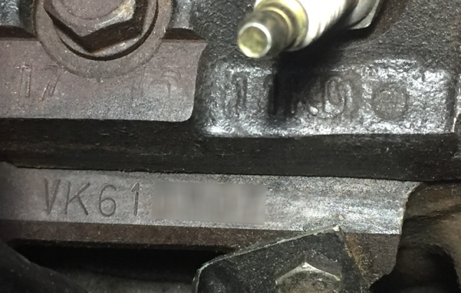 HSV GTS VP engine number stamping.png