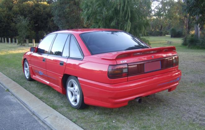 HSV GTS VP red commodore 1992 rear corner image.jpg