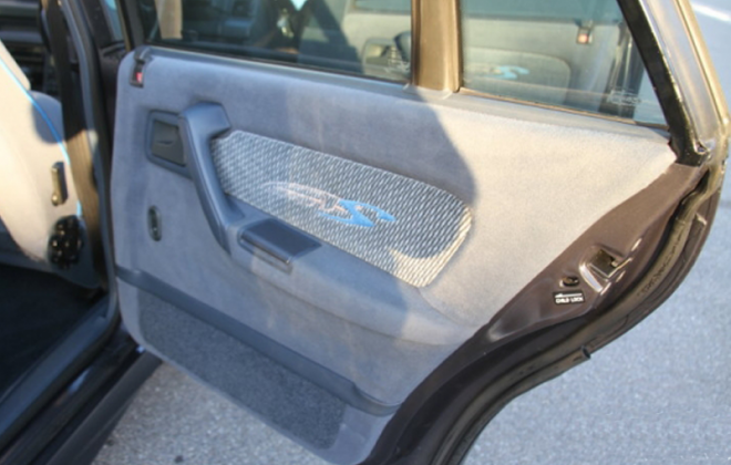 HSV VP GTS devonish trim door cards suede.png