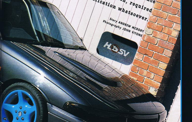 HSV VP GTS magazine article spy catcher blue trim VP 1992 GTS (2).png