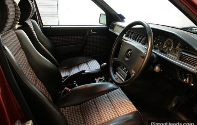 Half leather interior - 190E 2.5.jpg