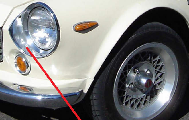Headlight surround Datsun 69-70 roadster.png