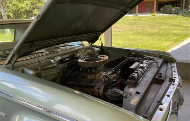 Hot rodded 1965 Studebaker Commander 2 door green (6).jpg