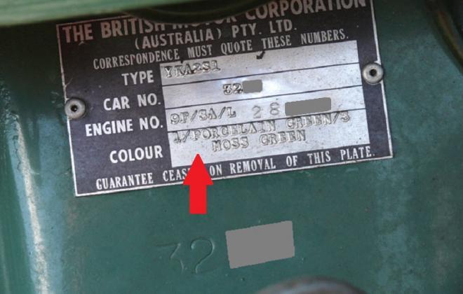 ID plate paint code MK1 Morris Cooper S.jpg