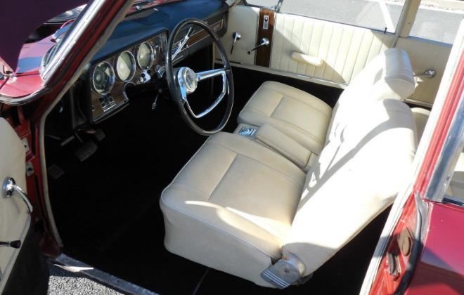 Interior 1966 Studebaker Daytona Sports Sedan creme vinyl (6).jpg