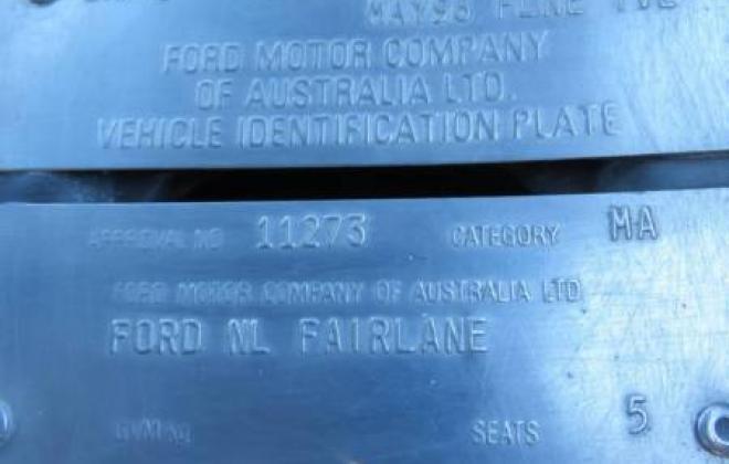 Interior Fairlane Tickford FBT 1998 Build Number 063 (3).JPG