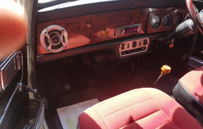 Interior Leyland Mini 1275 LS with red trim and timber dash (3).jpg