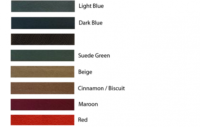Interior colour Options chart - Series 1 E-Type Jaguar.png