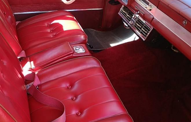 Interior images 1965 Studebaker Daytona Sports Sedan Red vinyl (4).jpg