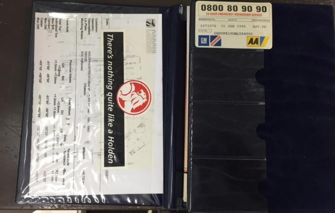 Interior1992 VP HSV Holden Red build number 228 images (13).jpg