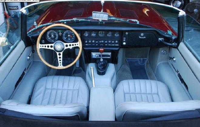 Jaguar 1968 Series 1.5 CKE E-type light blue interior image (1).png