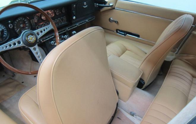 Jaguar 1968 Series 1.5 E-type XKE beige interior image (1).png