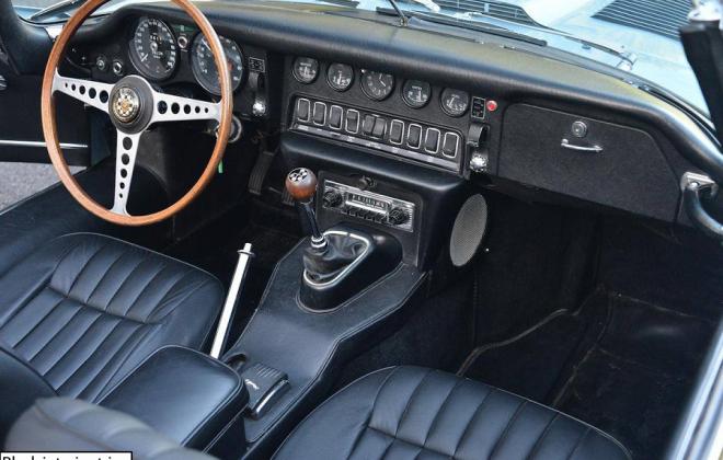 Jaguar 1968 Series 1.5 XKE E-type black interior image (1).png