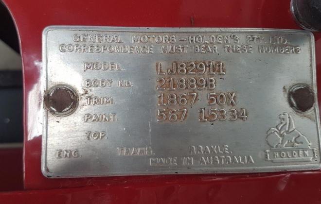 LJ Torana GTR info plate.jpg