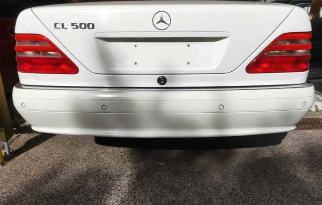 Late model C140 Mercedes coupe reversing sensors bumper.jpg