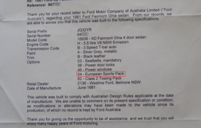 Letter from Ford Australia confirming VIN Serial number for XD ESP Option 54 (1).png