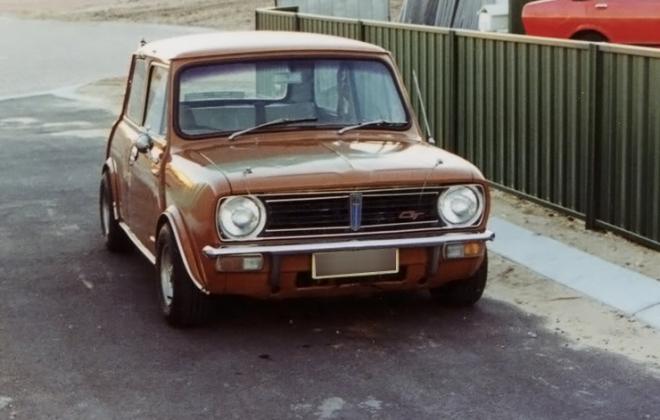 Leyland Mini CLubman GT Australia Arianca Tan image.png