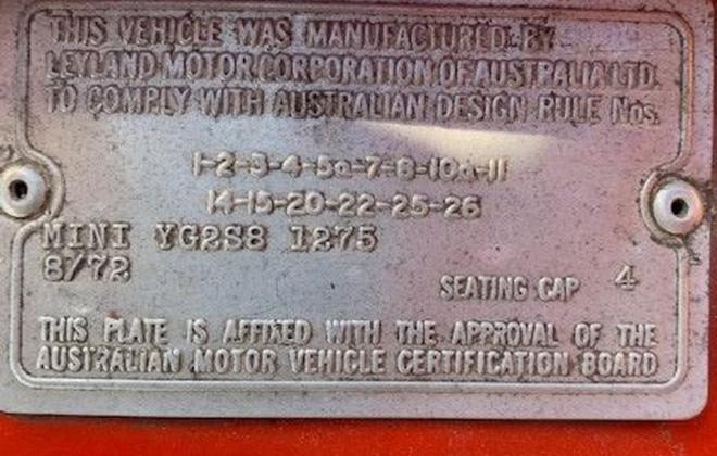 Leyland Mini Clubman GT Australia 1275 pics 2021 (2).jpg