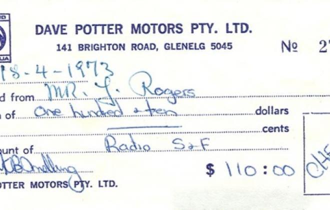 Leyland Mini Clubman GT Australia purchase receipt (2).jpg