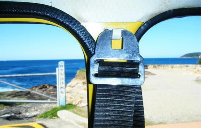 Leyland Mini Clubman GT seat belts hanger.png