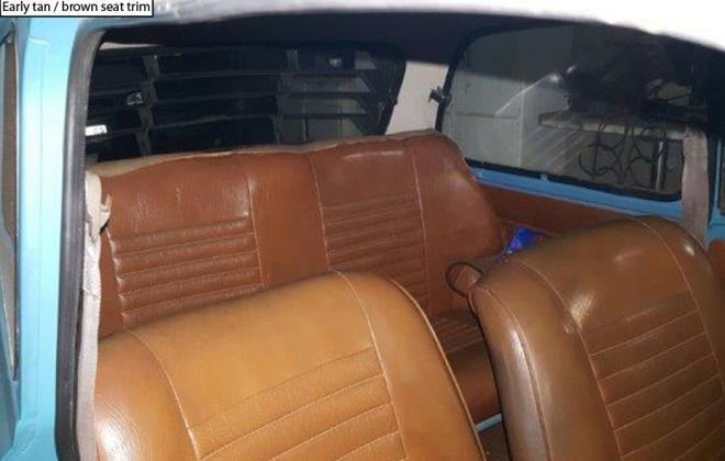 Leyland Mini GTS interior trim tan brown 1976.png