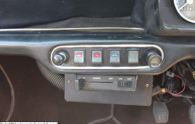 Leyland Mini GTS switch panel dashboard.png