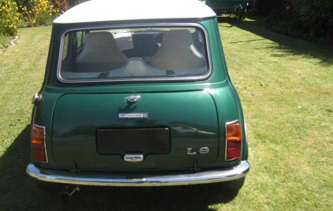 Leyland Mini LS Iridium Green 1977 restoration 1.jpg