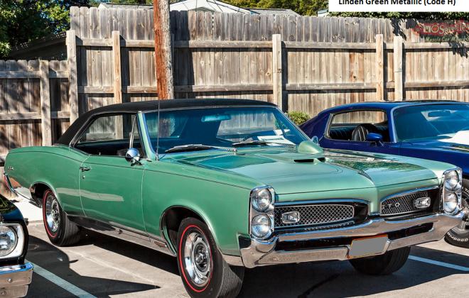 Linden Green Metallic Pontiac GTO 1967.png