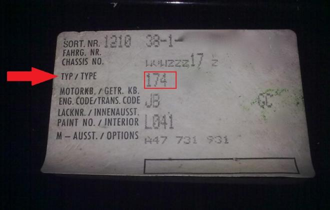 MK1 Golf GTI chassis options label vehicle type code.jpg