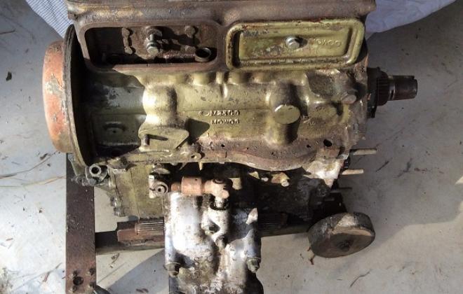 MK2 Morris Cooper S Australia engine block rear.jpg